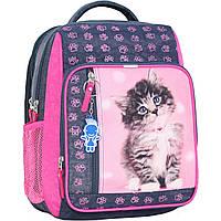 Рюкзак школьный Bagland Школьник 8 л. Серый (кот 65) (00112702), фото 1