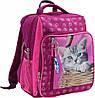 Рюкзак школьный Bagland Школьник 8 л. Малина (котенок в корзинке) (00112702)