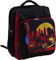 Рюкзак школьный Bagland Школьник 8 л. Черный (красная машина 22) (00112702), фото 1