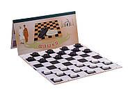 Доска для шашек, шахмат 64 клетки (35см х 35см), фото 1