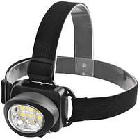 Налобный фонарик 539-6SMD 3xAAA Black