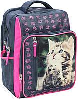 Рюкзак школьный Bagland Школьник 8 л. 321 сірий 21 д (00112702), фото 1