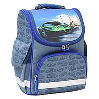 Рюкзак школьный каркасный Bagland Успех 12 л. 225 синiй 58 м (00551692), фото 1