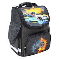 Рюкзак школьный каркасный Bagland Успех 12 л. чорний 18 м (00551692), фото 1
