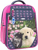 Рюкзак школьный Bagland Отличник 20 л. серый 138д (0058070), фото 1