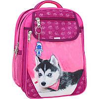 Рюкзак школьный Bagland Отличник 20 л. 143 малина 141 д (0058070), фото 1