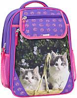 Рюкзак школьный Bagland Отличник 20 л. 170 фіолетовий 6 д (0058066), фото 1