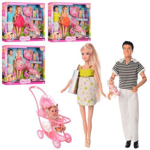 Кукла DEFA 8088, беременная с коляской