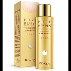 Тонер для лица Bioaqua Pure Pearls с гидролизованным протеином жемчуга 120 г
