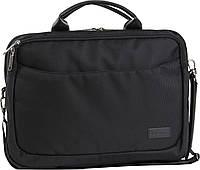 Сумка для ноутбука Bagland Fremont 11 л. Чёрный (0042780), фото 1