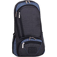 Рюкзак для ноутбука Bagland Granite 23 л. чорн./серый (0012069), фото 1