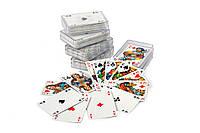 Игральные карты в пластиковом футляре