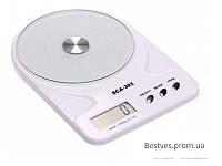 Весы кухонные SCA-301w