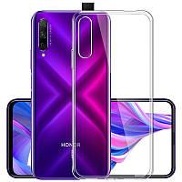Чехол силиконовый TOTO Acrylic + TPU Case Huawei Honor 9X прозрачный