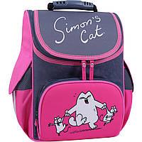 Рюкзак школьный каркасный Bagland Успех 12 л. Серый 366 (00551702), фото 1