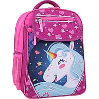 Рюкзак школьный Bagland Отличник 20 л. 143 малина 504 (0058070), фото 1