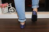 Балетки женские синие Т643, фото 4