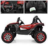 Дитяча машина M 3602EBLRS-3-2, 4WD, червоний з чорним, автопокраска, фото 5