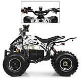 Квадроцикл для подростков Profi HB-EATV 1000Q2-1(MP3) белый, фото 5