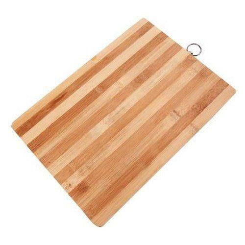 Доска разделочная кухнная 20х30 см бамбук