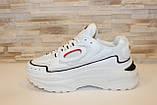 Кроссовки белые с вставками Т006, фото 2
