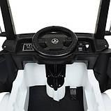 Детский электромобиль Bambi Грузовик Champion M 4208EBLR-1 белый, фото 4