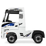 Детский электромобиль Bambi Грузовик Champion M 4208EBLR-1 белый, фото 9