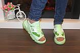 Босоножки женские зеленые Б328, фото 6