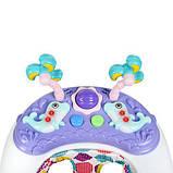 Дитячі ходунки ME 1056 DOLPHIN Violet, фото 3