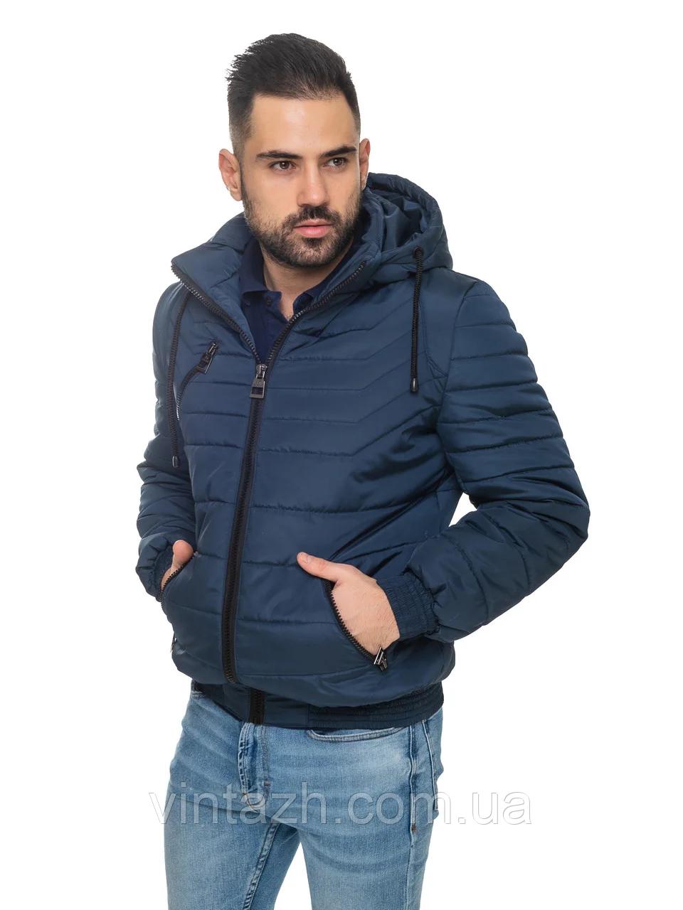 Мужская куртка демисезонная укороченная размер 48-56