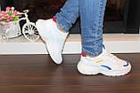 Кроссовки белые с вставками Т005, фото 3