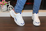 Кроссовки белые с вставками Т005, фото 4