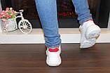 Кроссовки белые с вставками Т005, фото 5
