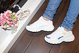 Кроссовки белые с вставками Т005, фото 6