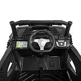 Детский электромобиль Bambi M 4248EBLR-2(24V) черный, фото 3