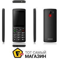 Assistant Classic AS-202 мобильный телефон недорогие, для пожилых людей классический gprs - черный
