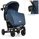 Коляска детская ME 1011L ZETA Denim Blue, фото 3