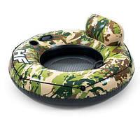 Плотик надувний для плавання 43284 BESTWAY з подстаканннікамі