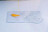 Форма для конфет на палочке звери Martellato 20-C017 60x70 мм