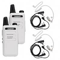 Портативная рация Agent AR-T7 Service Staff White (AR-T7_Service_Staff_White)