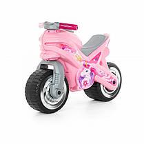 """Игрушка POLESIE """"Каталка-мотоцикл """"МХ"""" (розовая)"""" (80608)"""
