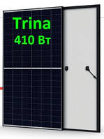 Солнечная панель 410Вт TSM-DE015H-410М 9ВB Нalf Сell Trina Solar, фото 1