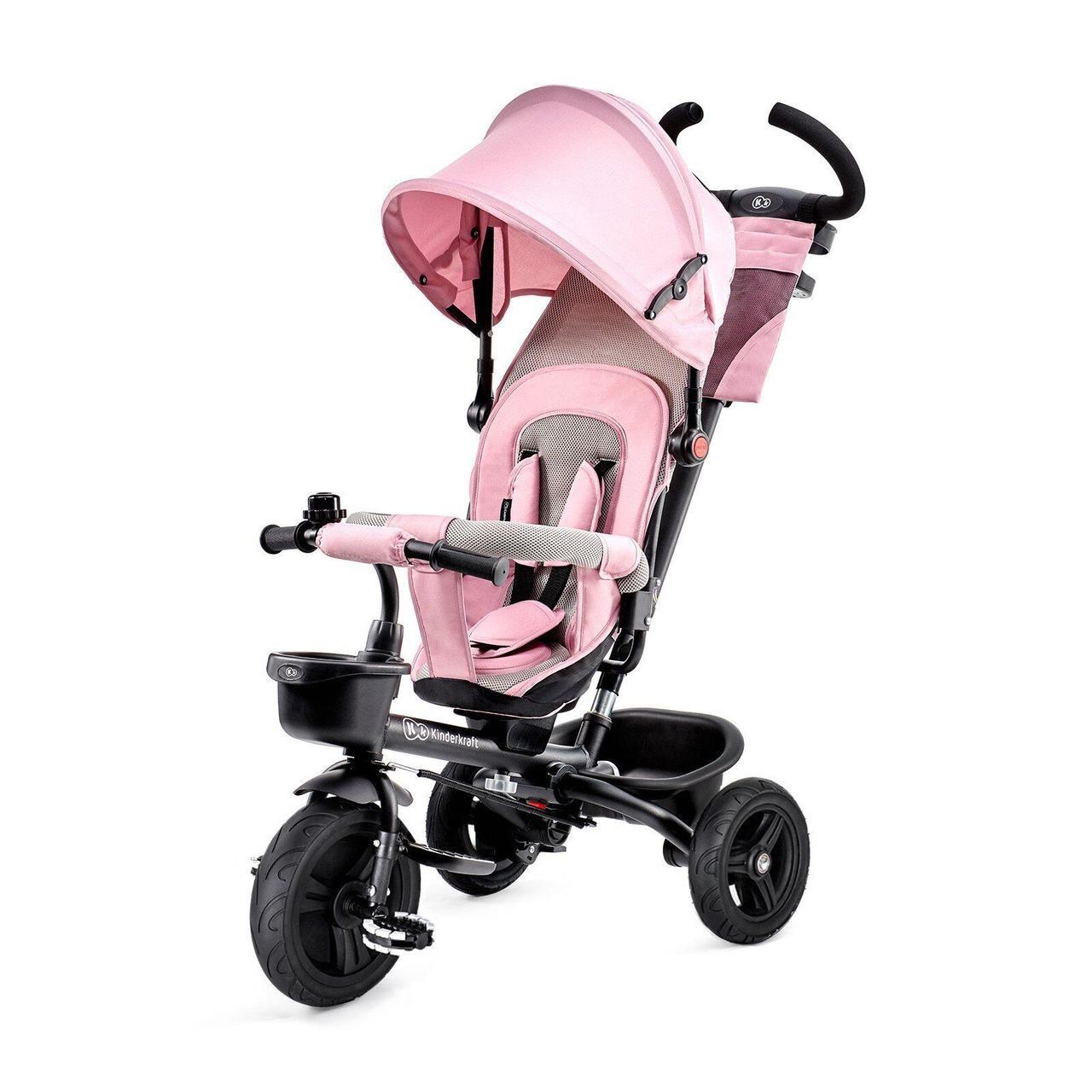 Трехколесный велосипед Aveo Pink Kinderkraft 5902533908899