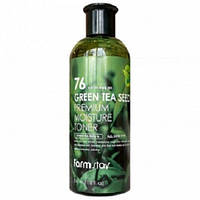 Противовоспалительный тонер с экстрактом семян зеленого чая FarmStay Green Tea Seed Premium Moisture Toner