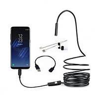 Эндоскоп JYC 8led USB-microUSB HD 1280 * 960 5м жесткий кабель водонепроницаемый, фото 1