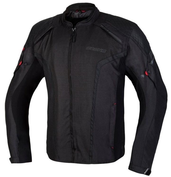 Мотокуртка текстильна Ozone Edge II (Black) (Разные цвета)