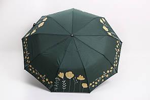 Зонт Ализ зеленый Диаметр купола 99.0(см)/ Длина спицы 56.0(см)/ Длина в сложенном виде 33.0(см) (7040)