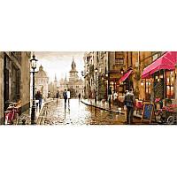 Картина по номерам Амстердам (Триптих), 50x150 см., Babylon