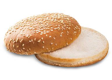 Булочка для Бургера с кунжутом 0,05 кг (35 шт)
