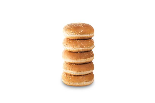 Булочка для Бургера з кунжутом 0,05 кг (35 шт), фото 2